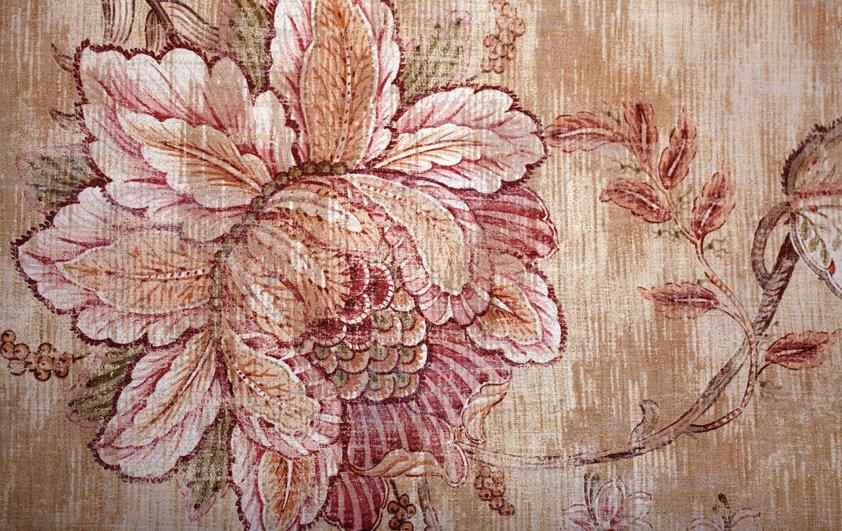 Design Tapijt Vintage Pink Flower