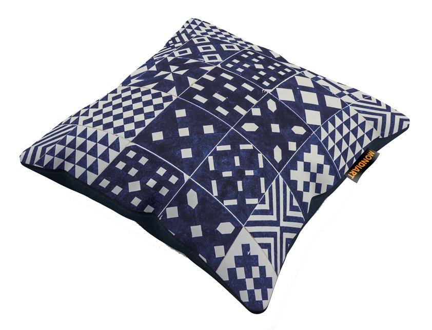 Cushion set/2, Royal Blue 01