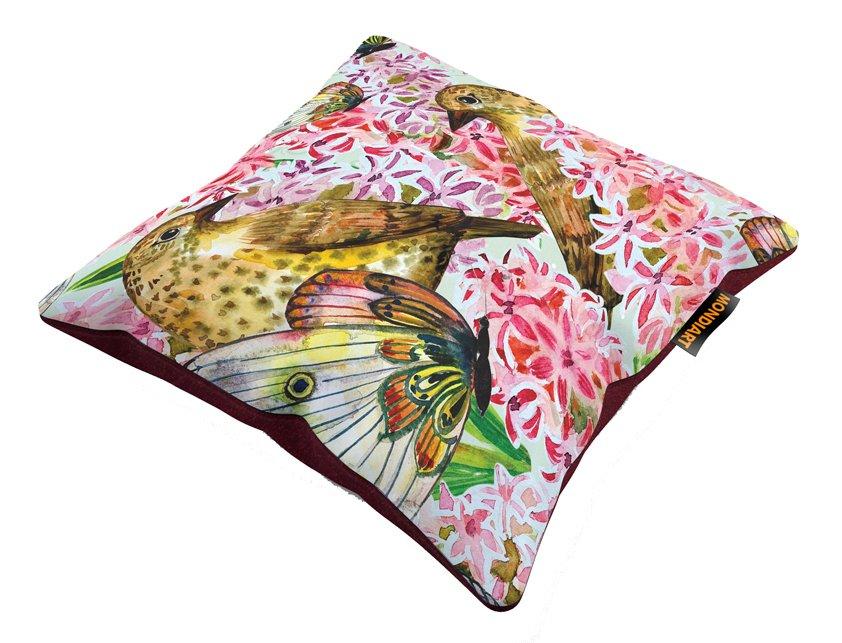 Cushion set/2, True Love - birds