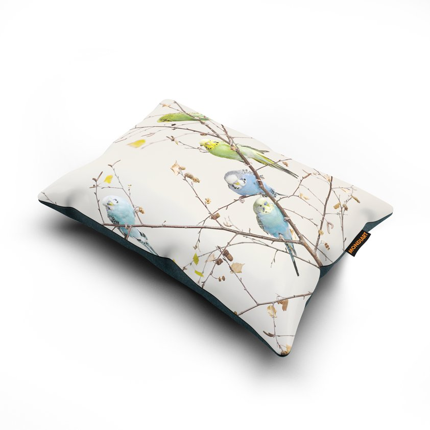 Cushion set/2, All together now - birds