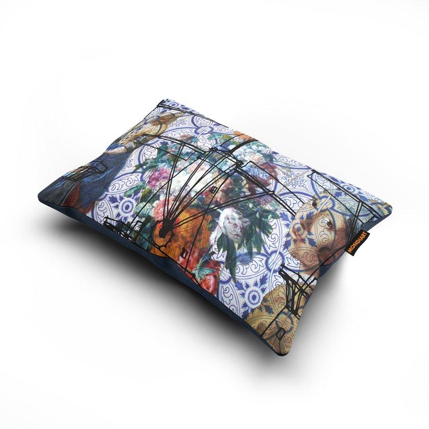 Cushion set/2, Blue Dutch
