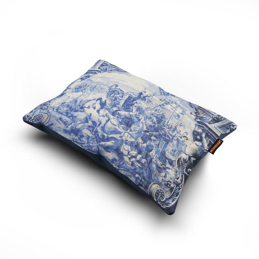 Cushion set/2, Royal Blue 06
