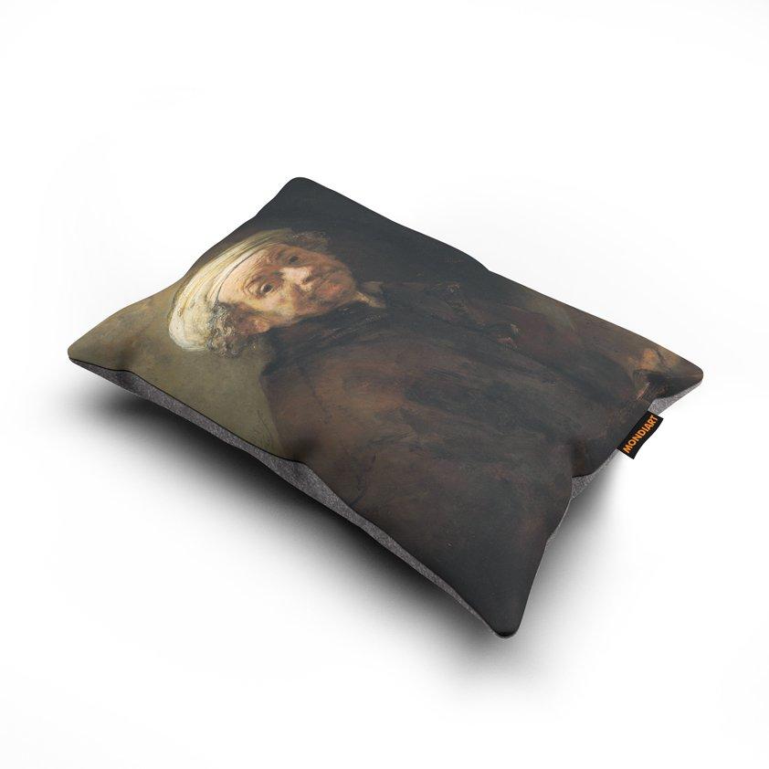 Cushion set/2, Rembrandt selfie