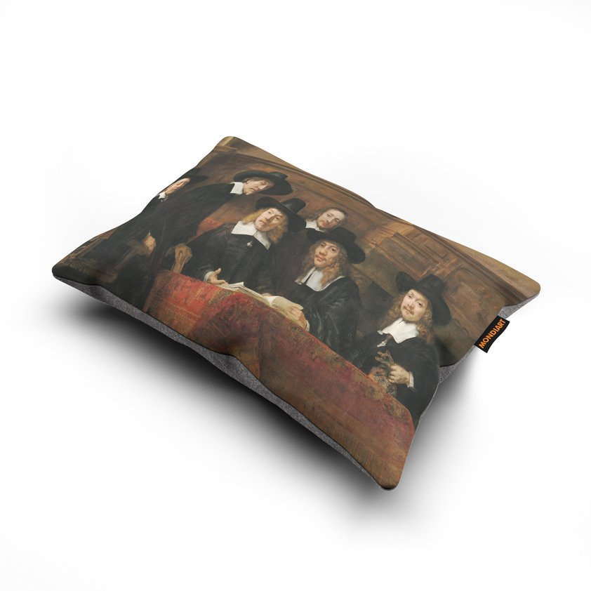 Cushion set/2, Rembrandt Staalmeesters