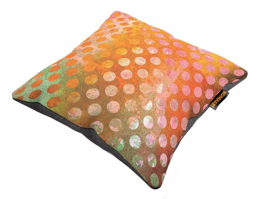 Cushion set/2, Rainbow dots 01