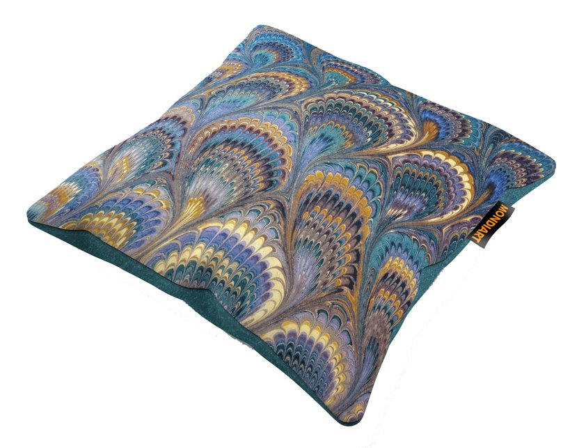 Cushion Set/2, Golden feather