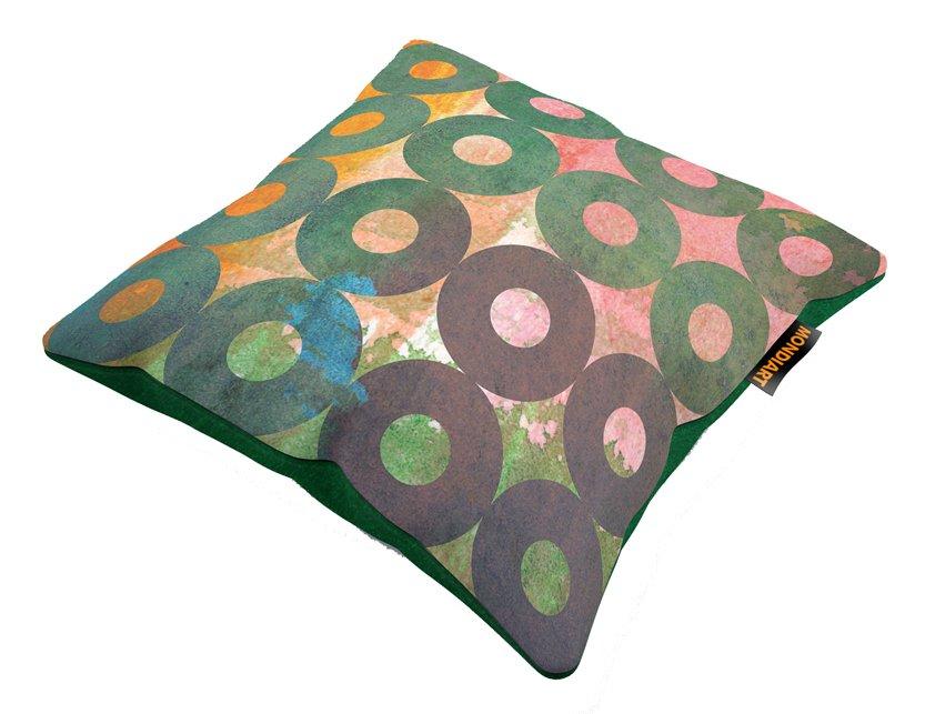 Cushion Set/2, Rainbow dots 04