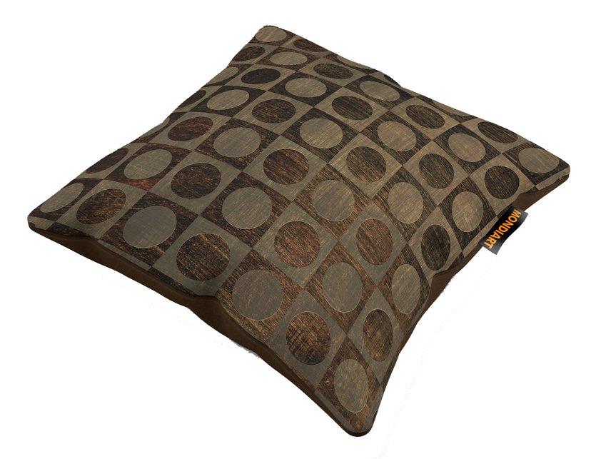 Cushion Set/2, Brown dots