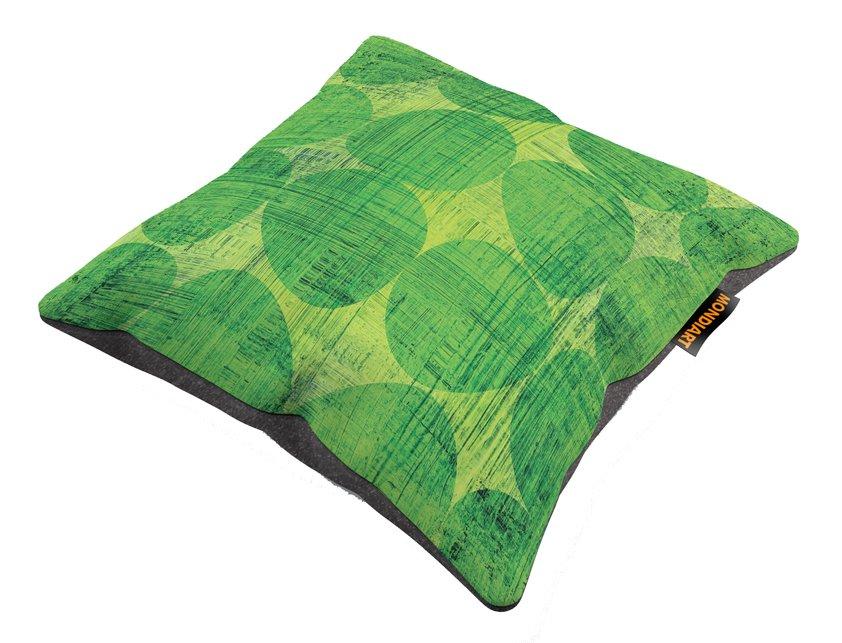 Cushion Set/2, Green dots