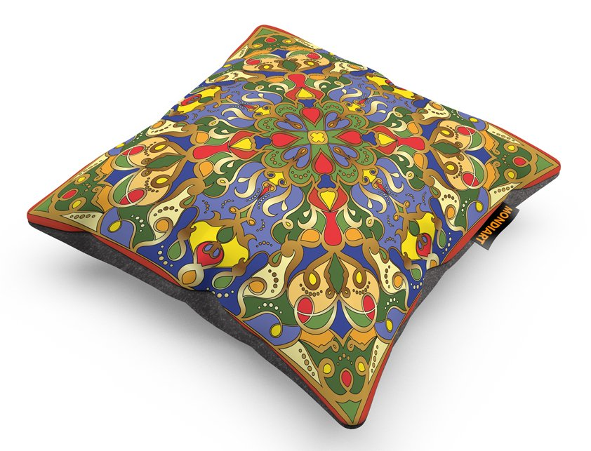 Cushion Set/2, Psychedelic Spring