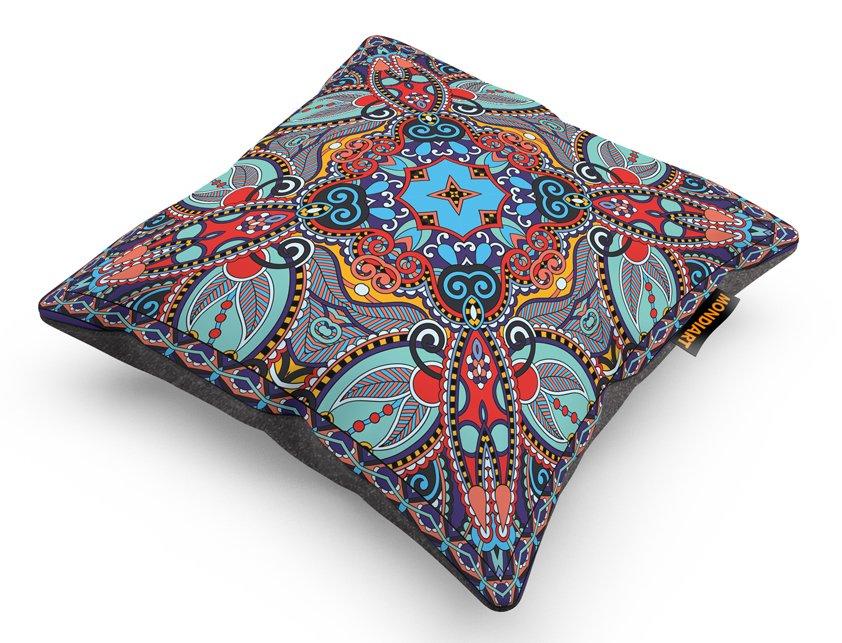 Cushion Set/2, Psychedelic Autumn