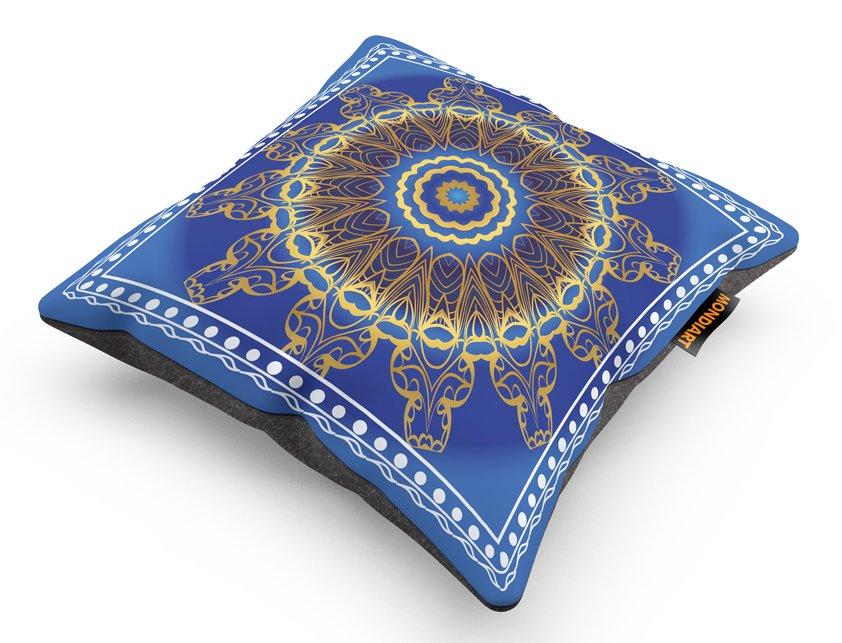 Cushion Set/2, Blue sun Greaves