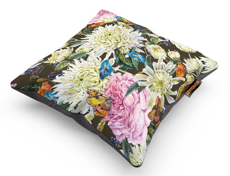 Cushion Set/2, Butterfly meet Flower
