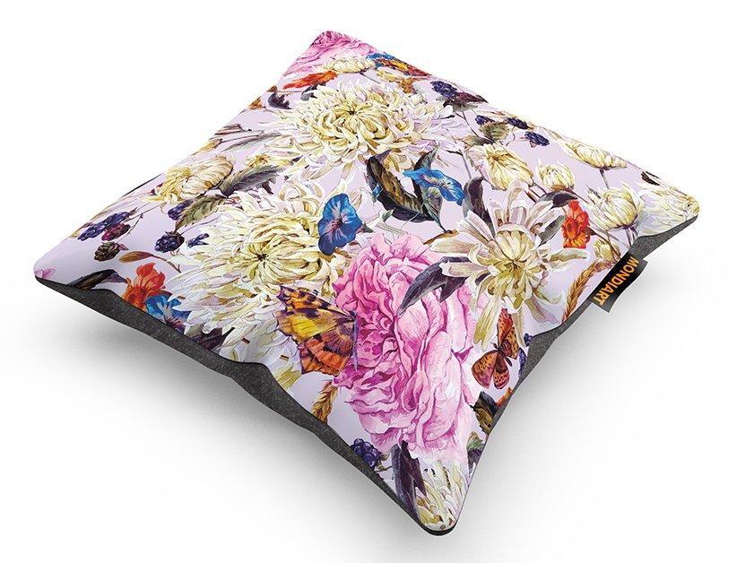 Cushion Set/2, Pink Flower Mania