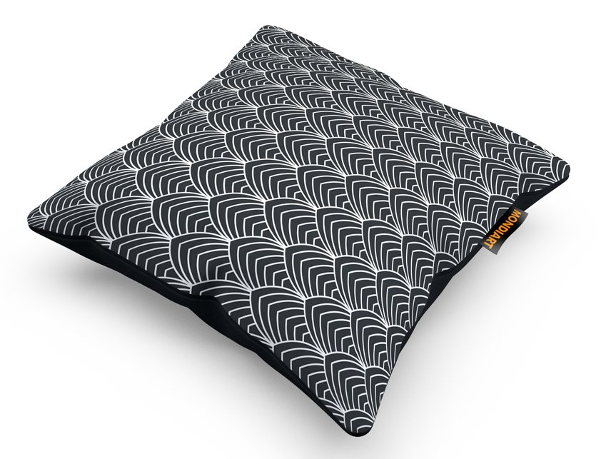Cushion Set/2, Repeating Flow