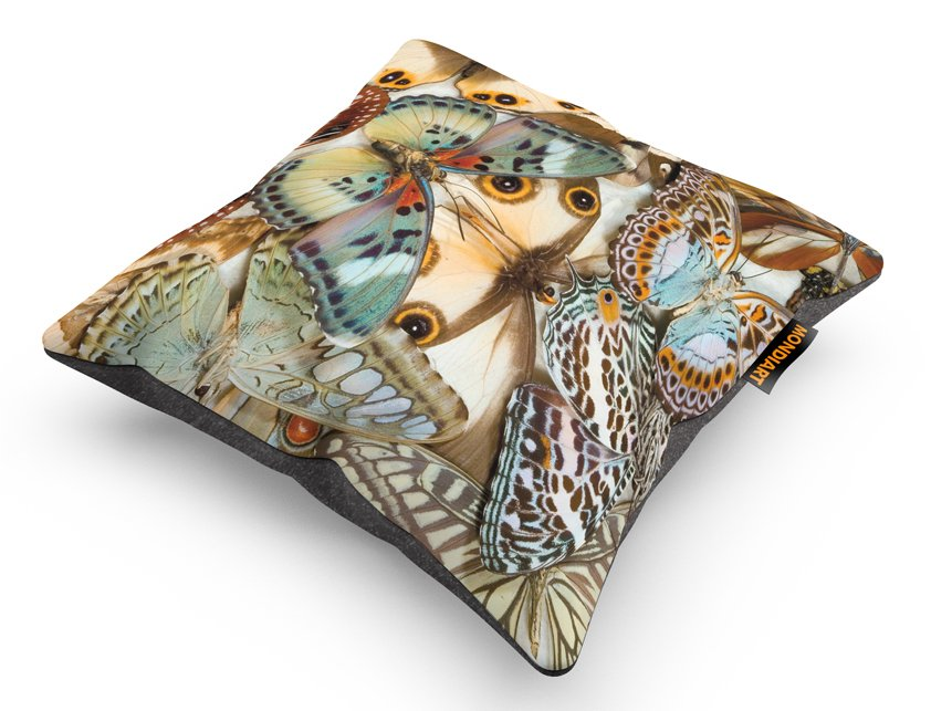 Cushion Set/2, Tropical Butterfly Mania