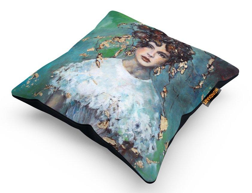 Cushion Set/2, Quiet Bride