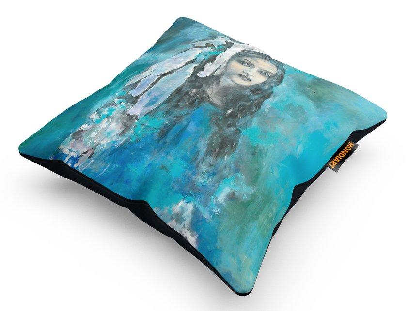 Cushion Set/2, Shy Girl