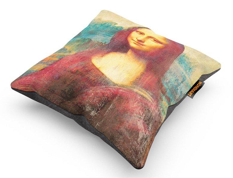 Cushion Set/2, Mona Lisa 2.0