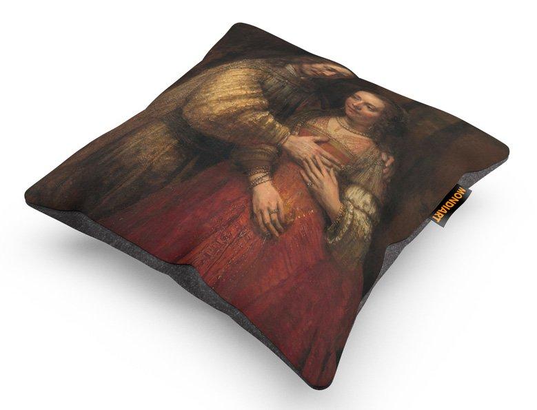 Cushion set/2, Jewish Bride, Isaak + Rebekka