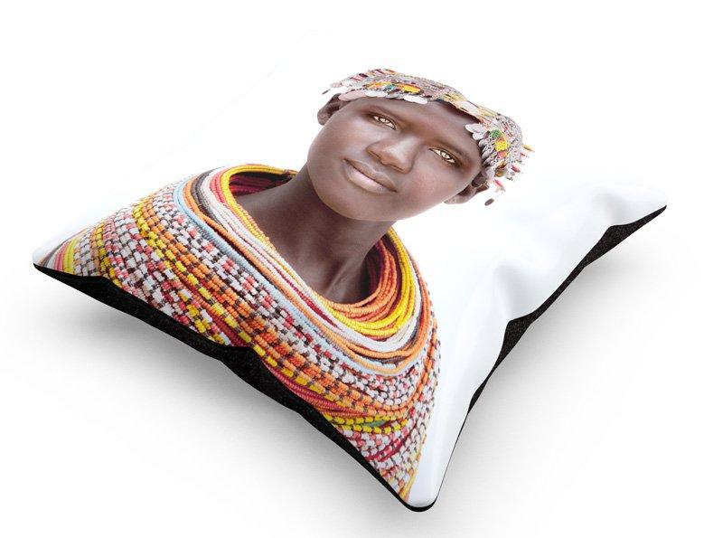cushion, Samburu Girl
