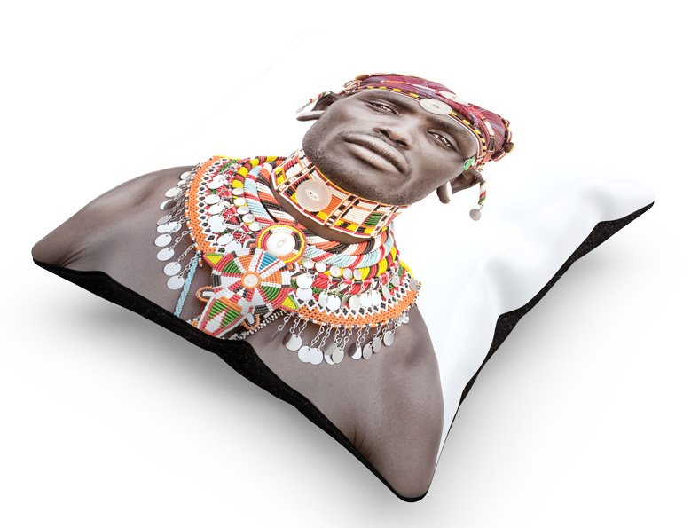 cushion, Sambura Man