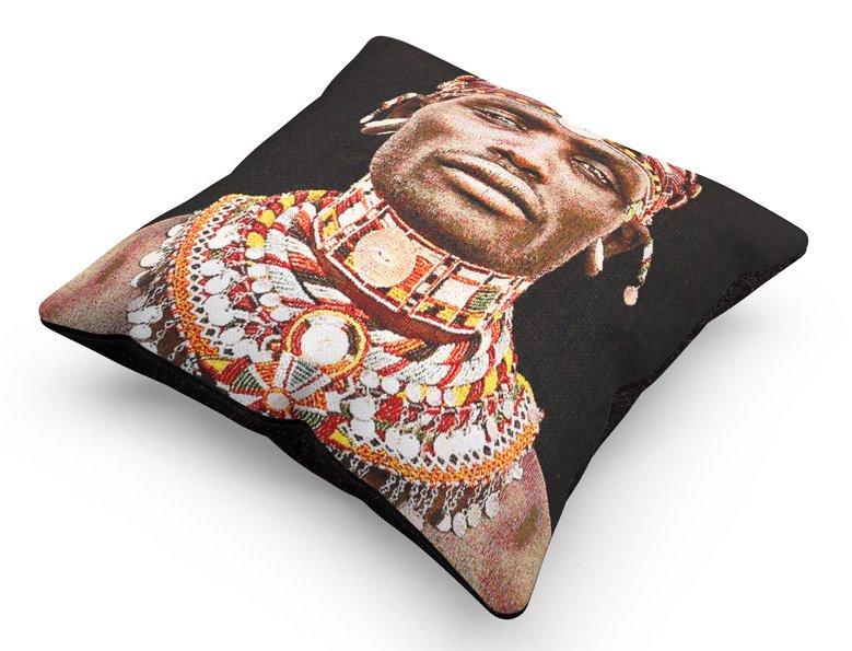 cushion, Samburu Man