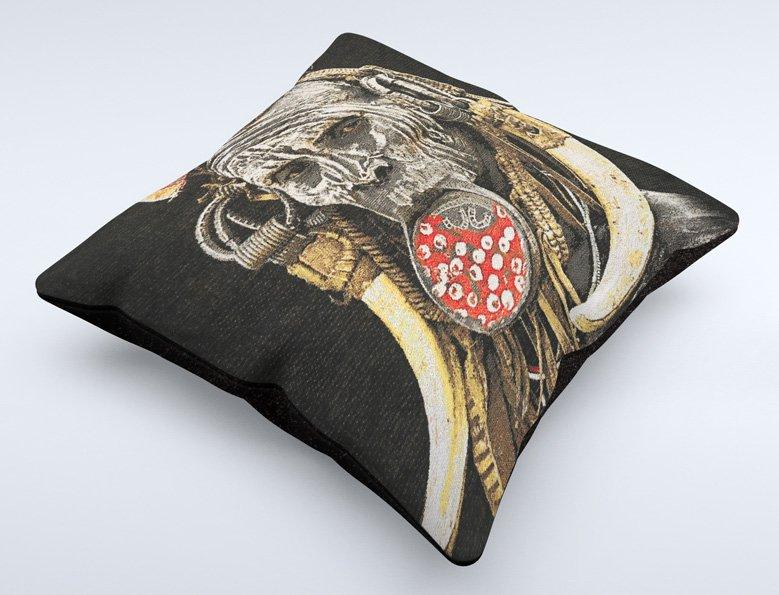cushion, Mursi woman Ethiopia