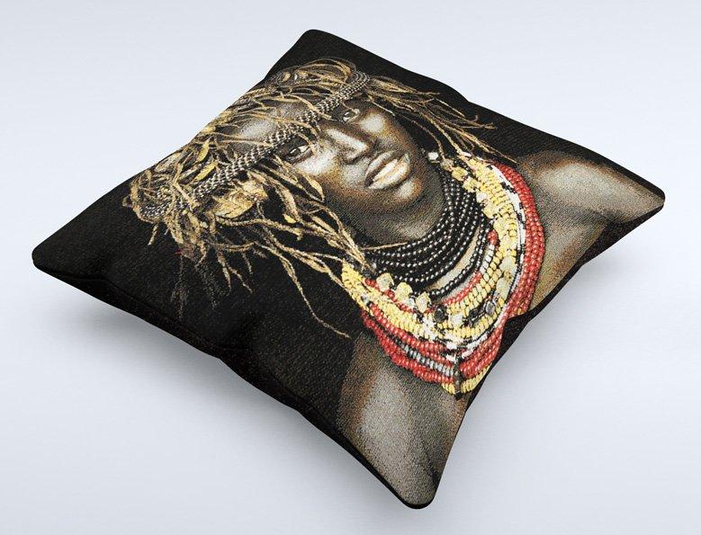cushion, Dassenech girl