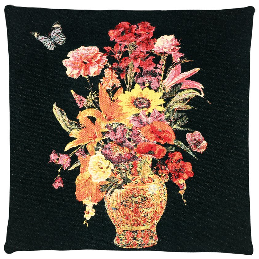 Cushion, Flower vase