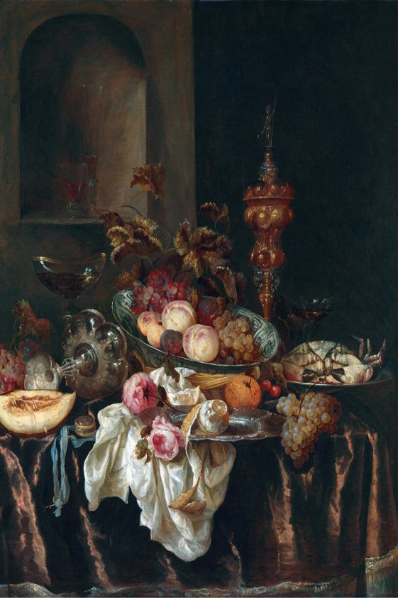 Thuinschilderij Dressed Table